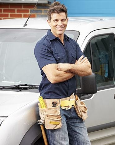 priority plumbing company man